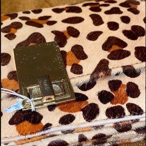 Express women clutch / hand bag / Animal print M